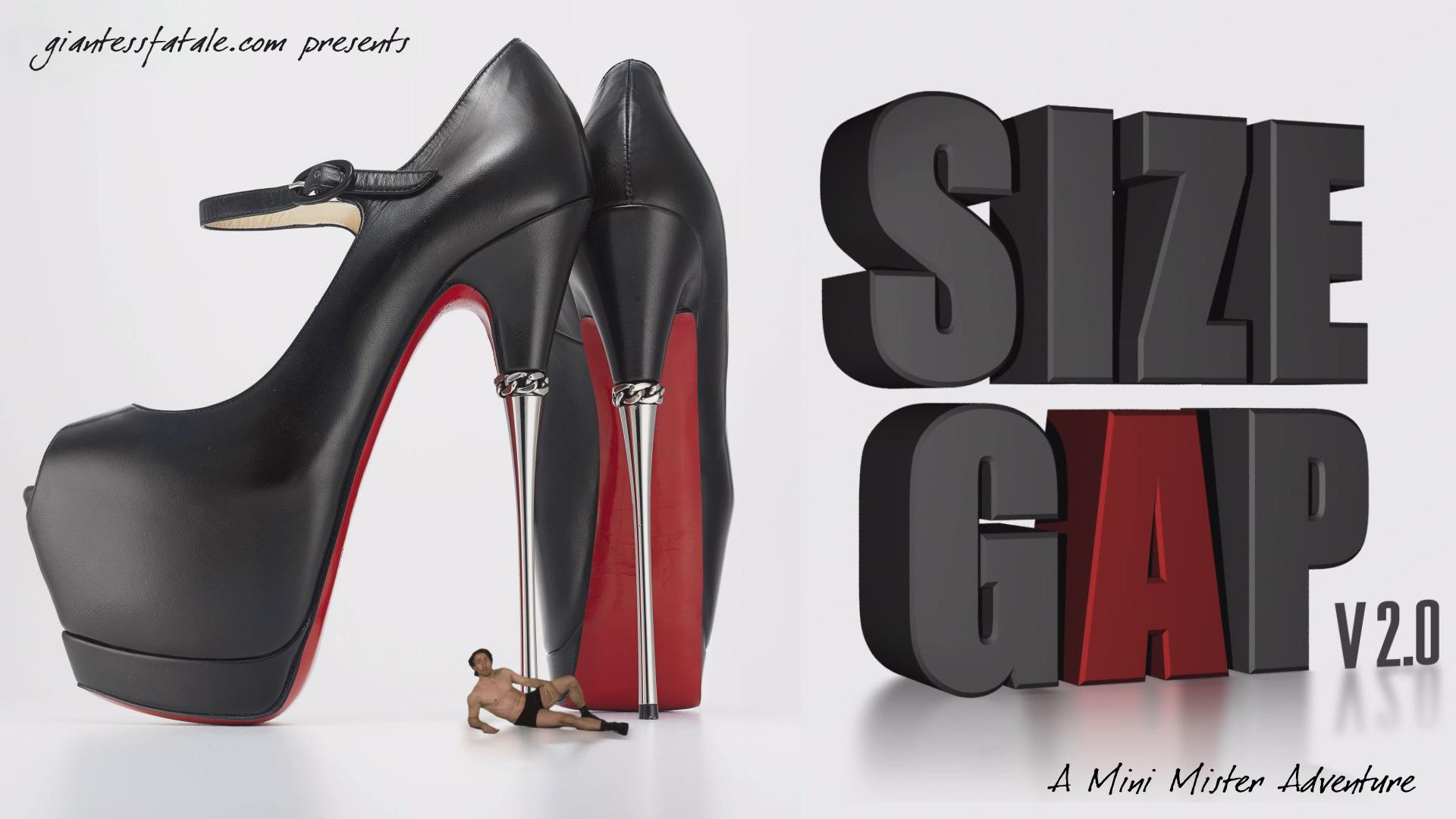 Size Gap V2.0 Poster